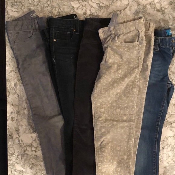 GAP Other - Lot of 5 jeans girls size 8 gap